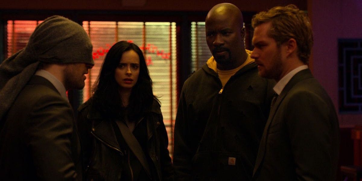 The Defenders Together