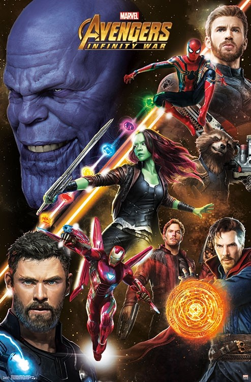 New Avengers Infinity War Promotional Posters Tease Black Order
