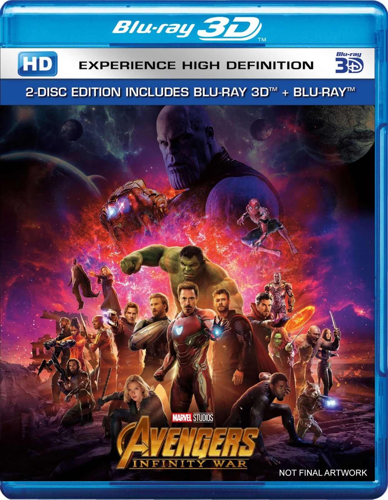 Avengers: Infinity War Digital HD Date Revealed, Pre-Orders