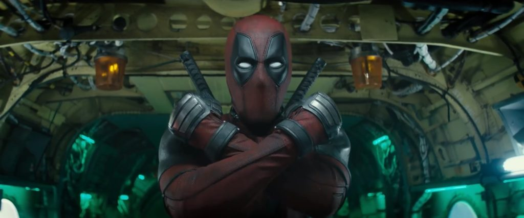 Deadpool 2 X-Force Sign