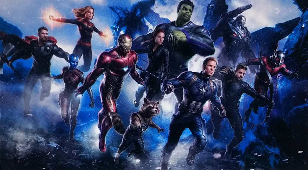 Concept Art 1 - Avengers 4 - Team In Action