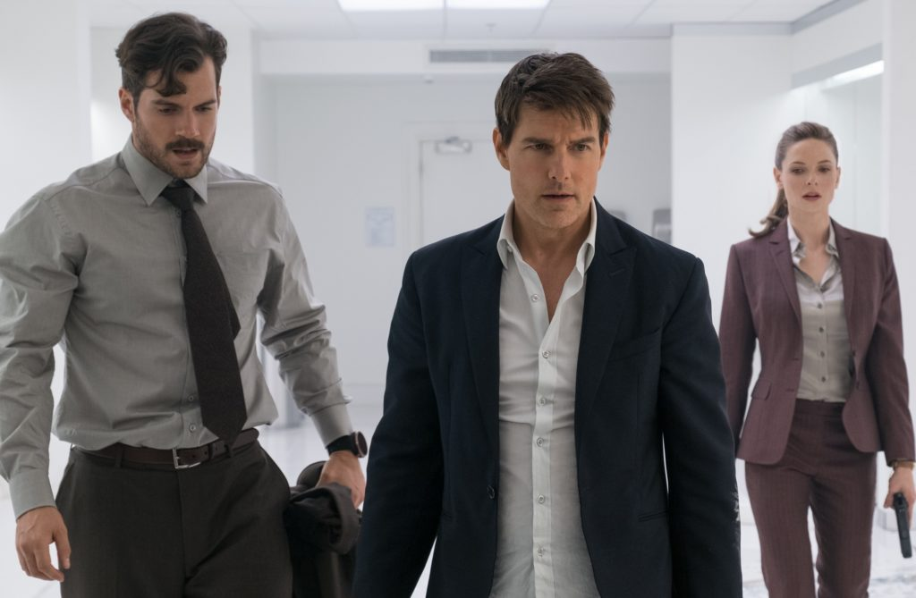 Mission Impossible Fallout Henry Cavill Tom Cruise Rebecca Fergusson
