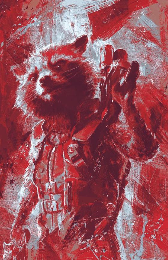 Avengers Endgame Leaked Promo Art 10 - Rocket