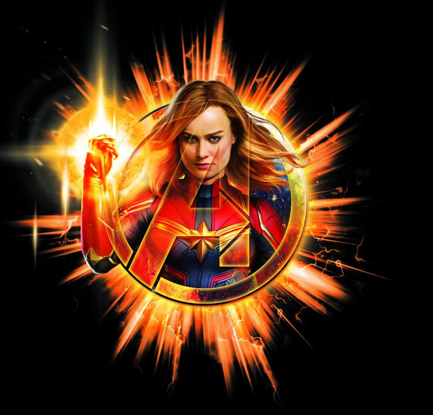 Avengers Endgame Leaked Promo Art 13 - Captain Marvel