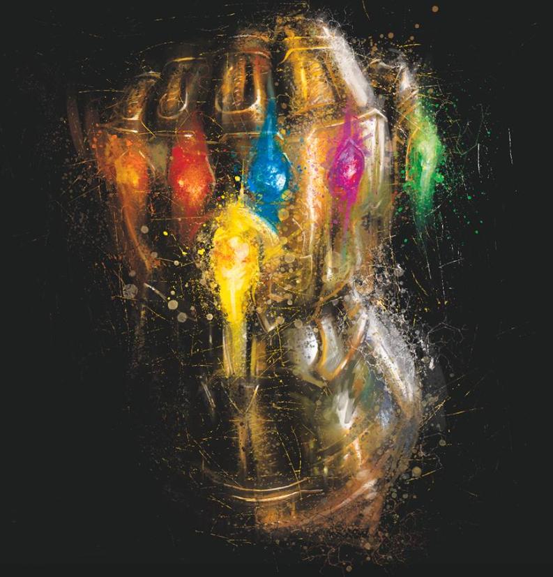 Avengers Endgame Leaked Promo Art 14 - Infinity Gauntlet