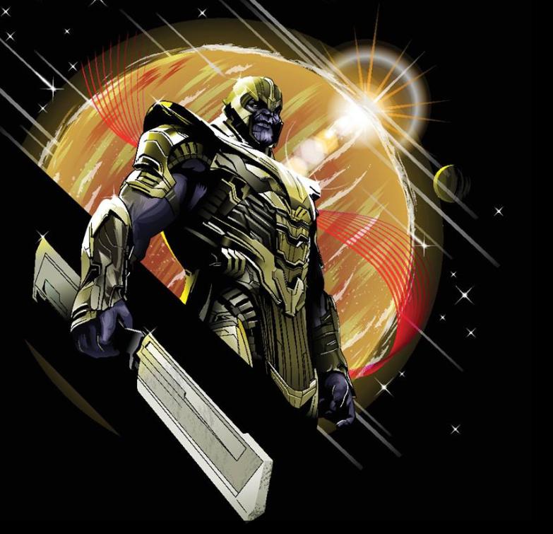 Avengers Endgame Leaked Promo Art 16 - Thanos