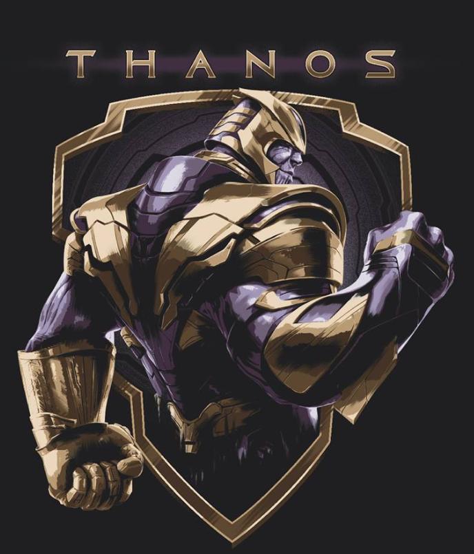 Avengers Endgame Leaked Promo Art 17 - Thanos