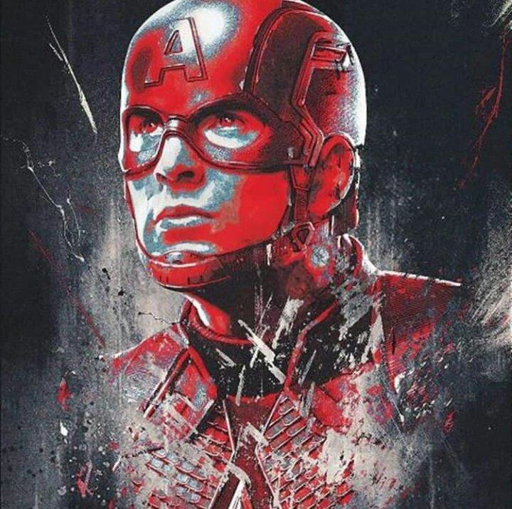 Avengers Endgame Leaked Promo Art 2 - Captain America