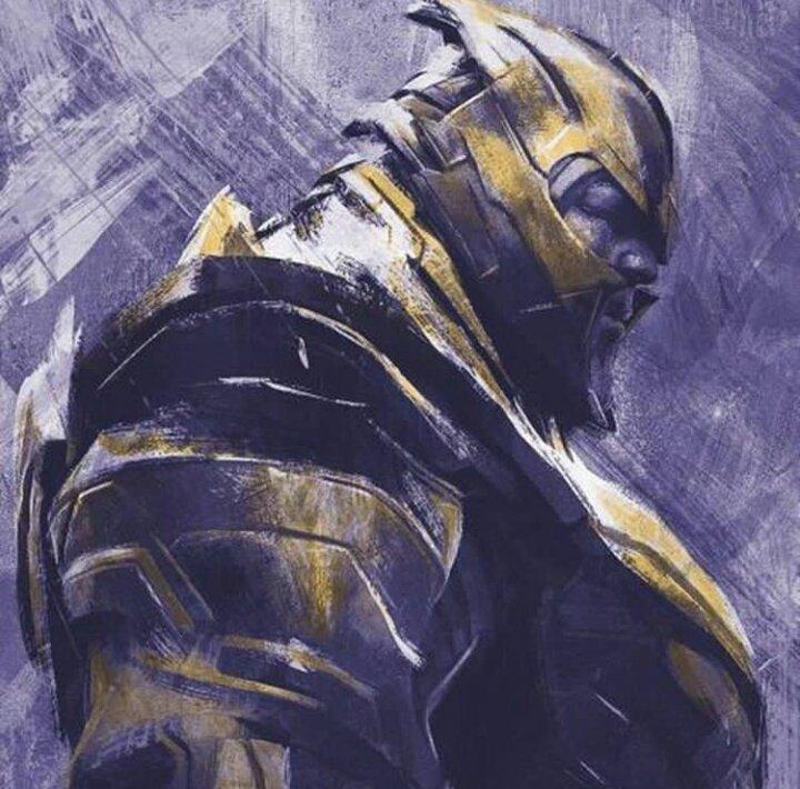 Avengers Endgame Leaked Promo Art 3 - Thanos