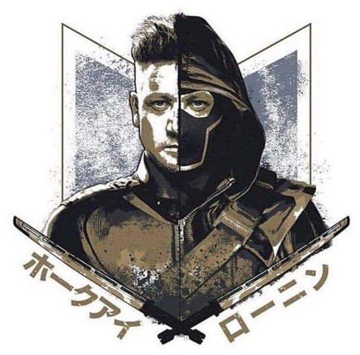 Avengers Endgame Leaked Promo Art 4 - Hawkeye Ronin
