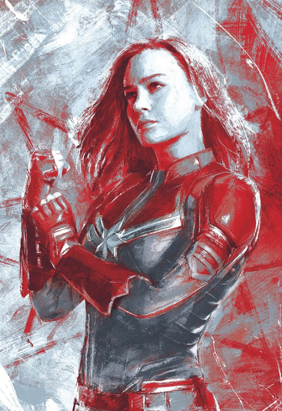Avengers Endgame Leaked Promo Art 8 - Captain Marvel
