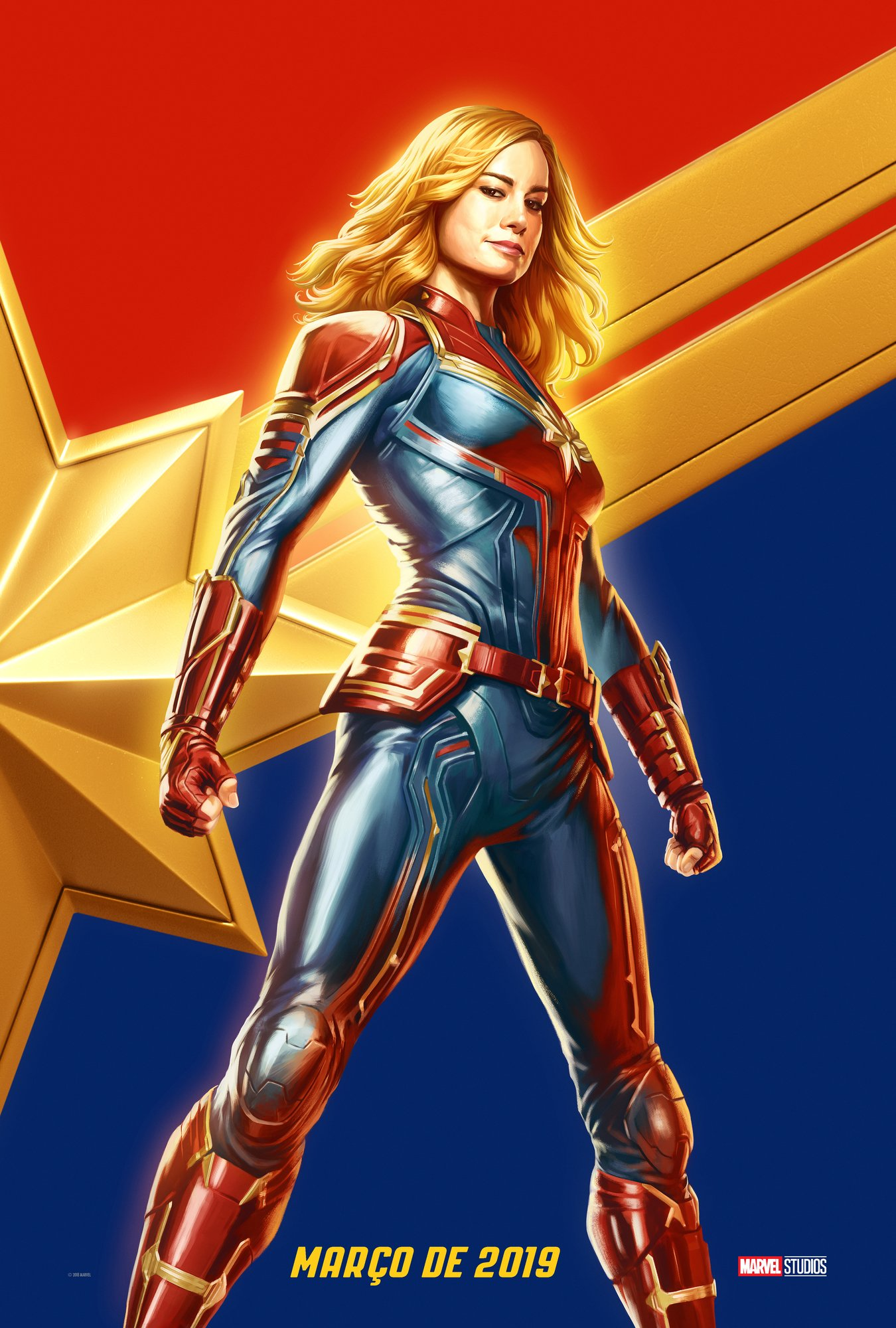 Captain Marvel Exclusive Ccxp Poster Released Online By Marvel