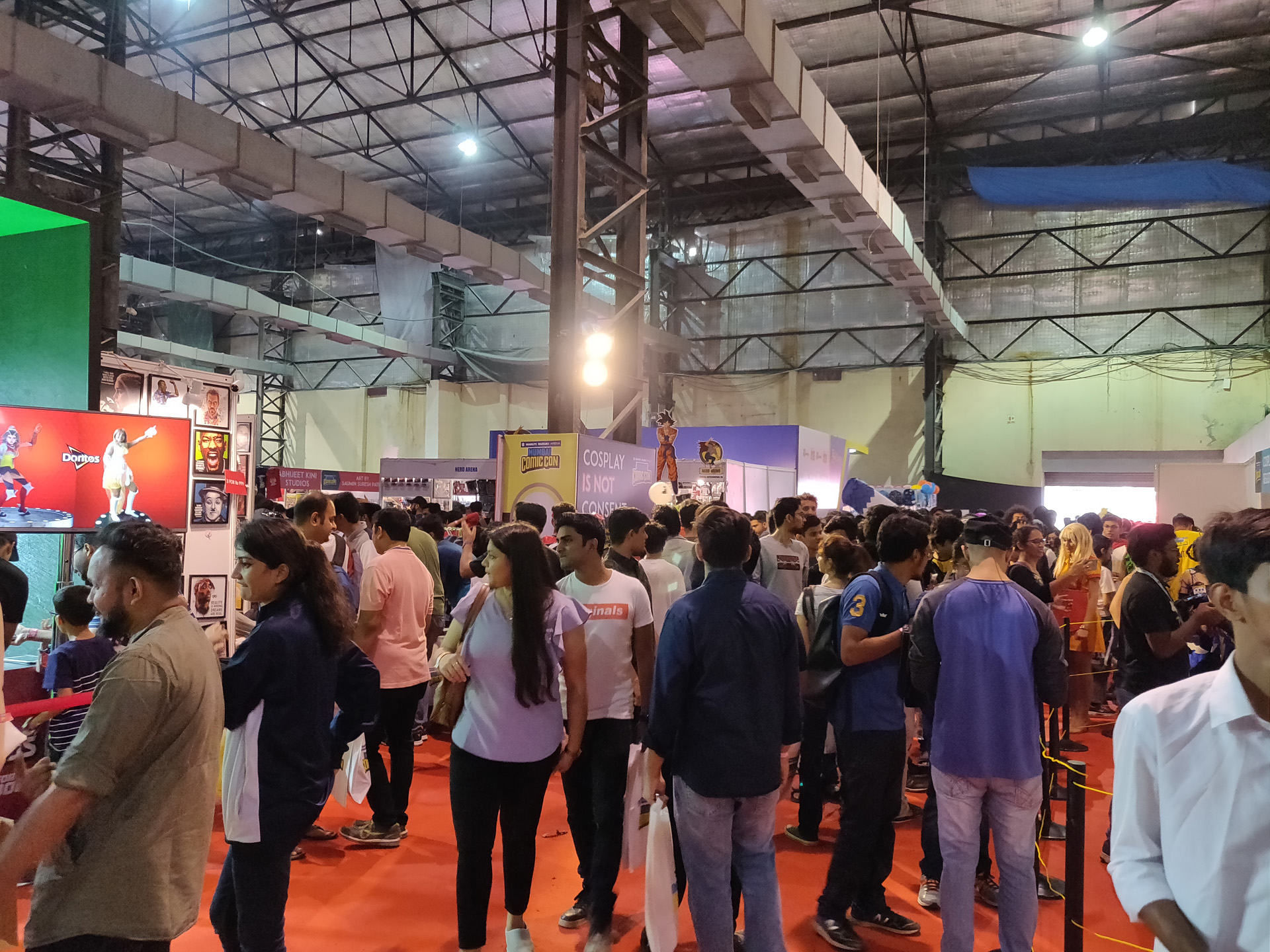 Comic Con Mumbai 2018 02 - NESCO Hall