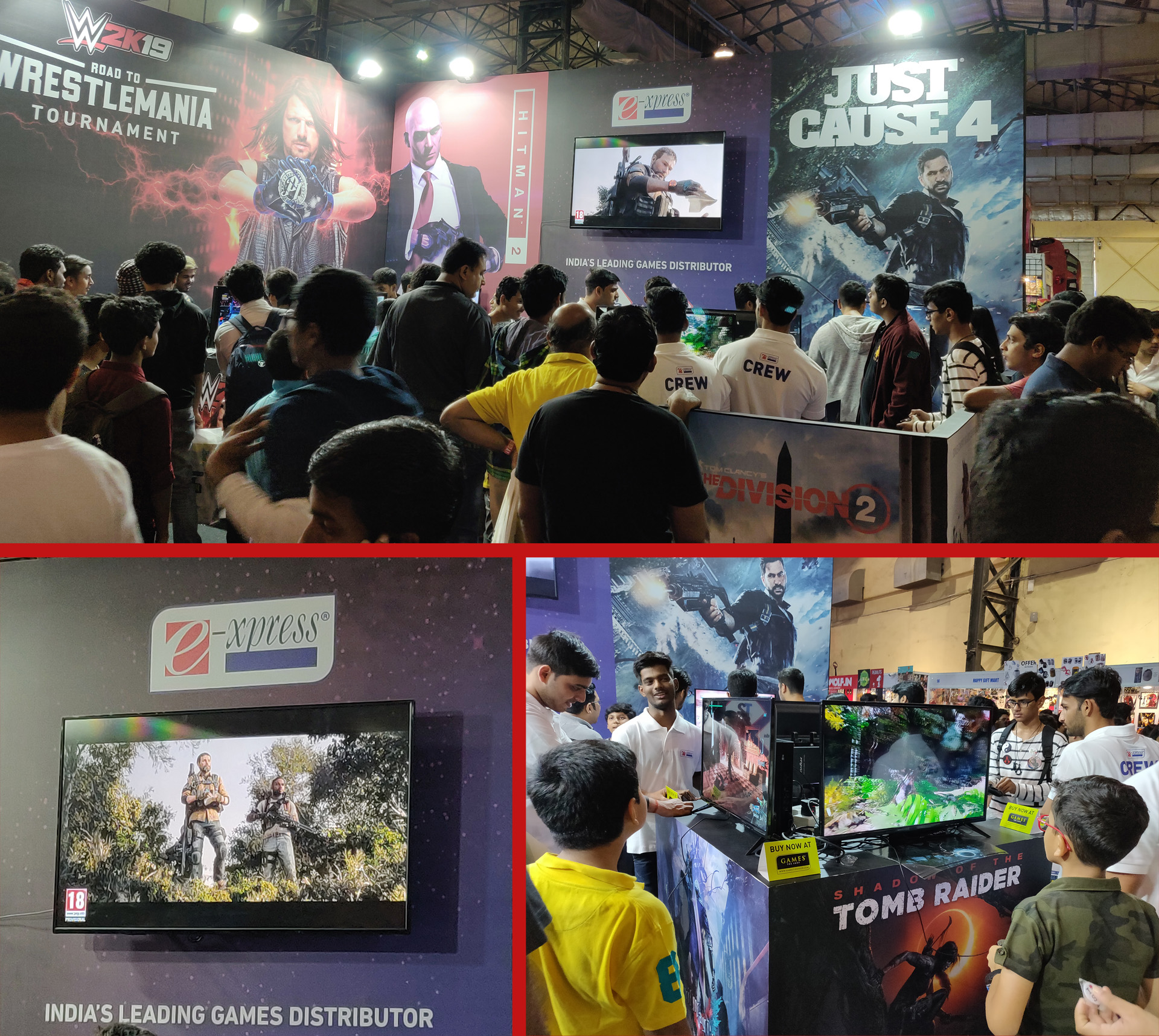 Comic Con Mumbai 2018 - Games The Shop Booth