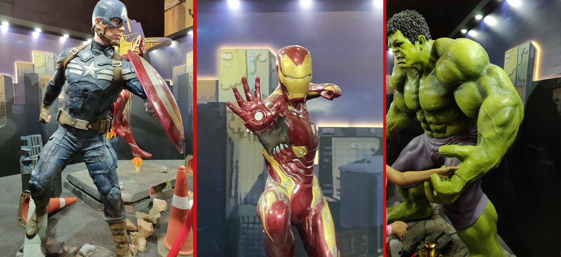 Comic Con Mumbai 2018 - Marvel Studios Booth