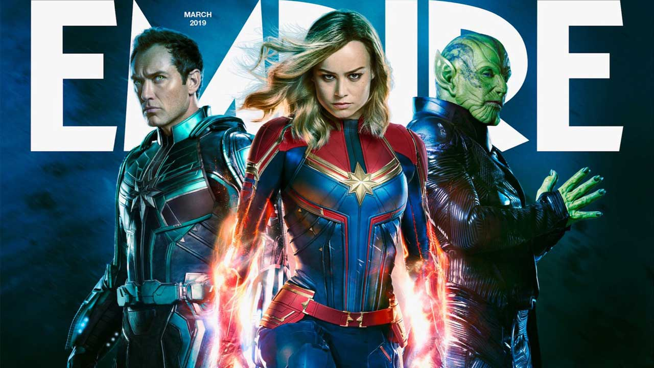 Captain Marvel Empire Magazine Cover