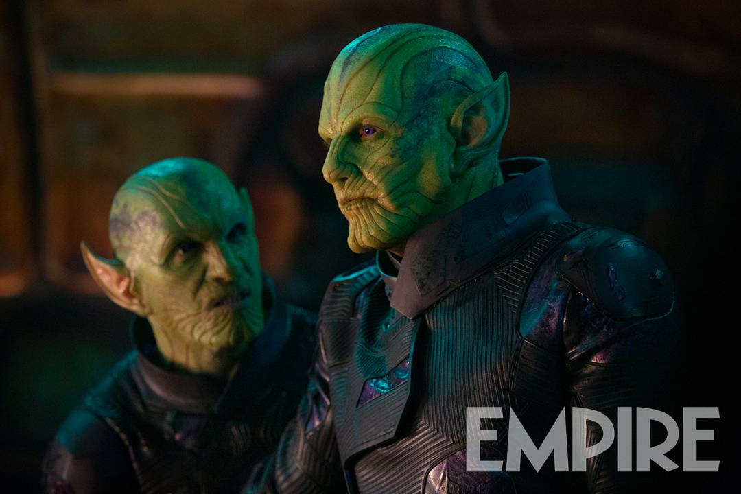 Captain Marvel Empire Magazine Still Skrulls