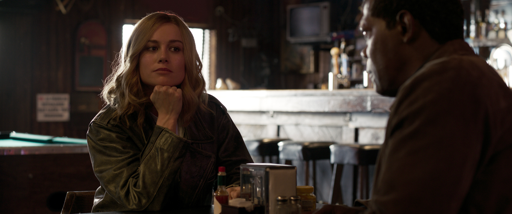 Captain Marvel Hi-Res Still 1 - Carol Danvers, Nick Fury