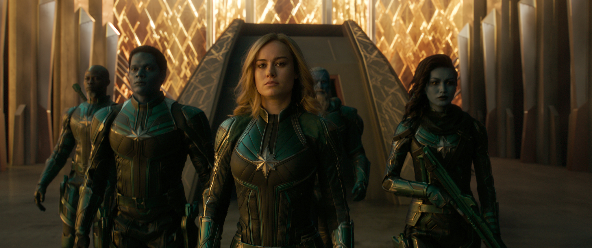 Captain Marvel Hi-Res Still 2 - Carol Danvers, Starforce Team