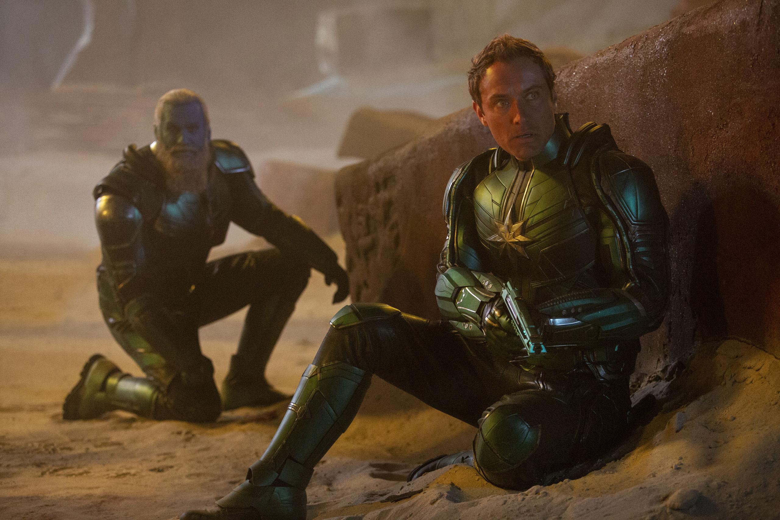 Captain Marvel Hi-Res Still 4 - Jude Law