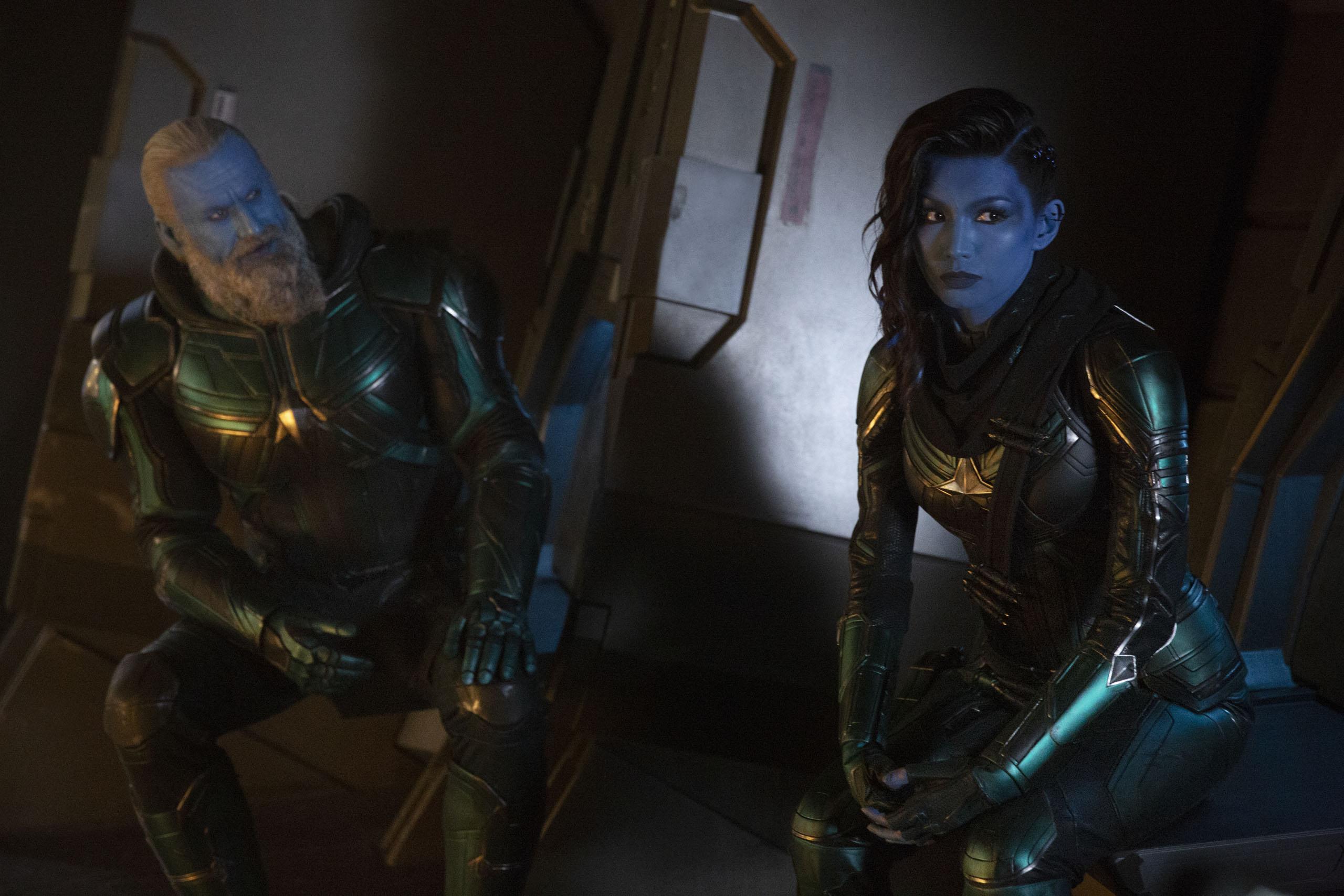 Captain Marvel Hi-Res Still 7 - Minn-Erva, Bron-Char
