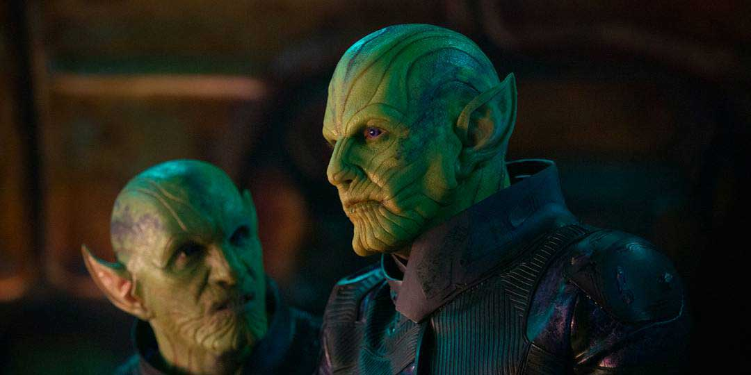 Captain Marvel Skrulls Talos
