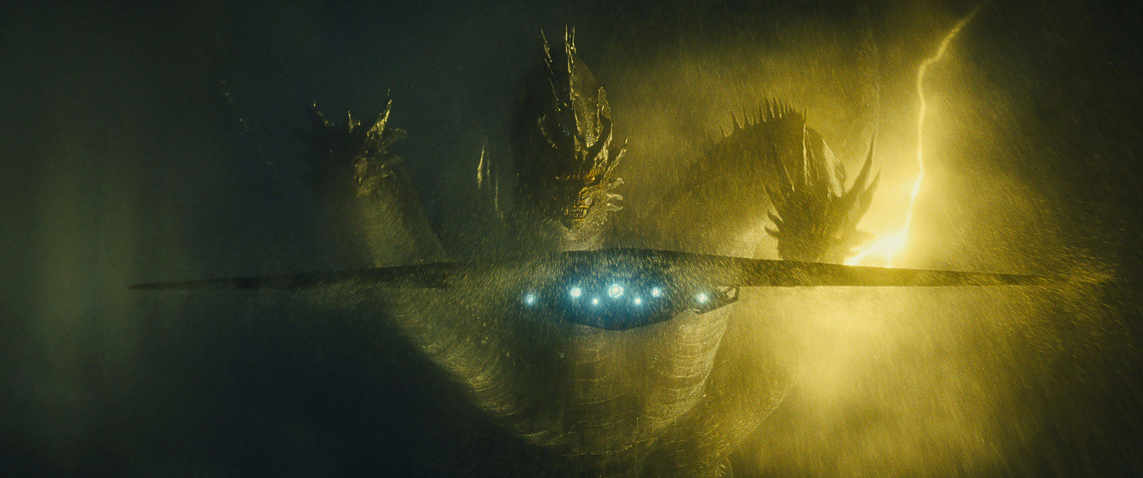 Ghidorah Monarch Ship Godzilla King of the Monsters 4K Still