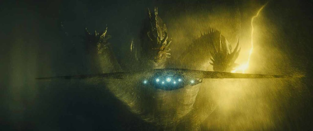 Ghidorah Spaceship Godzilla King of the Monsters New Still