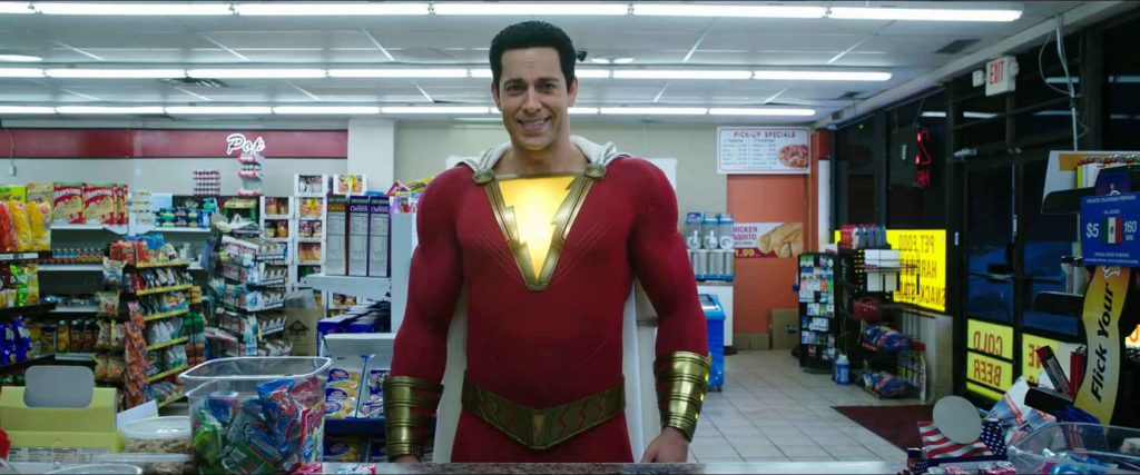 Shazam Trailer TV Spot Costume