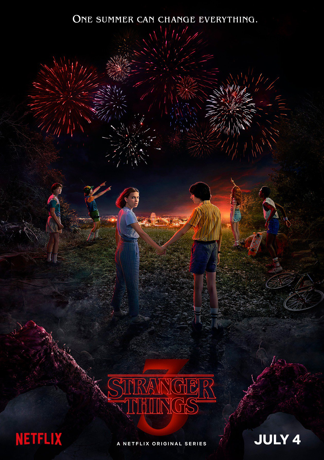 Stranger Things Season 3 New Year Teaser Poster