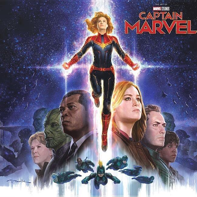 The Art of Captain Marvel Cover Andy Park