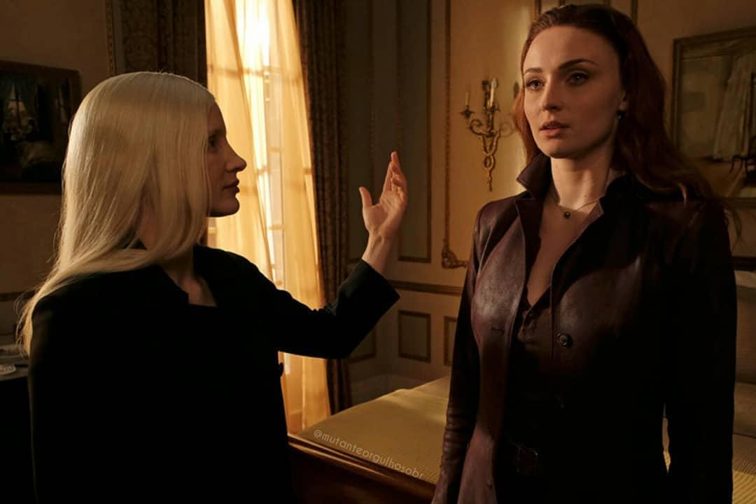 X-Men Dark Phoenix Still 1 Jessica Chastain Sophie Turner