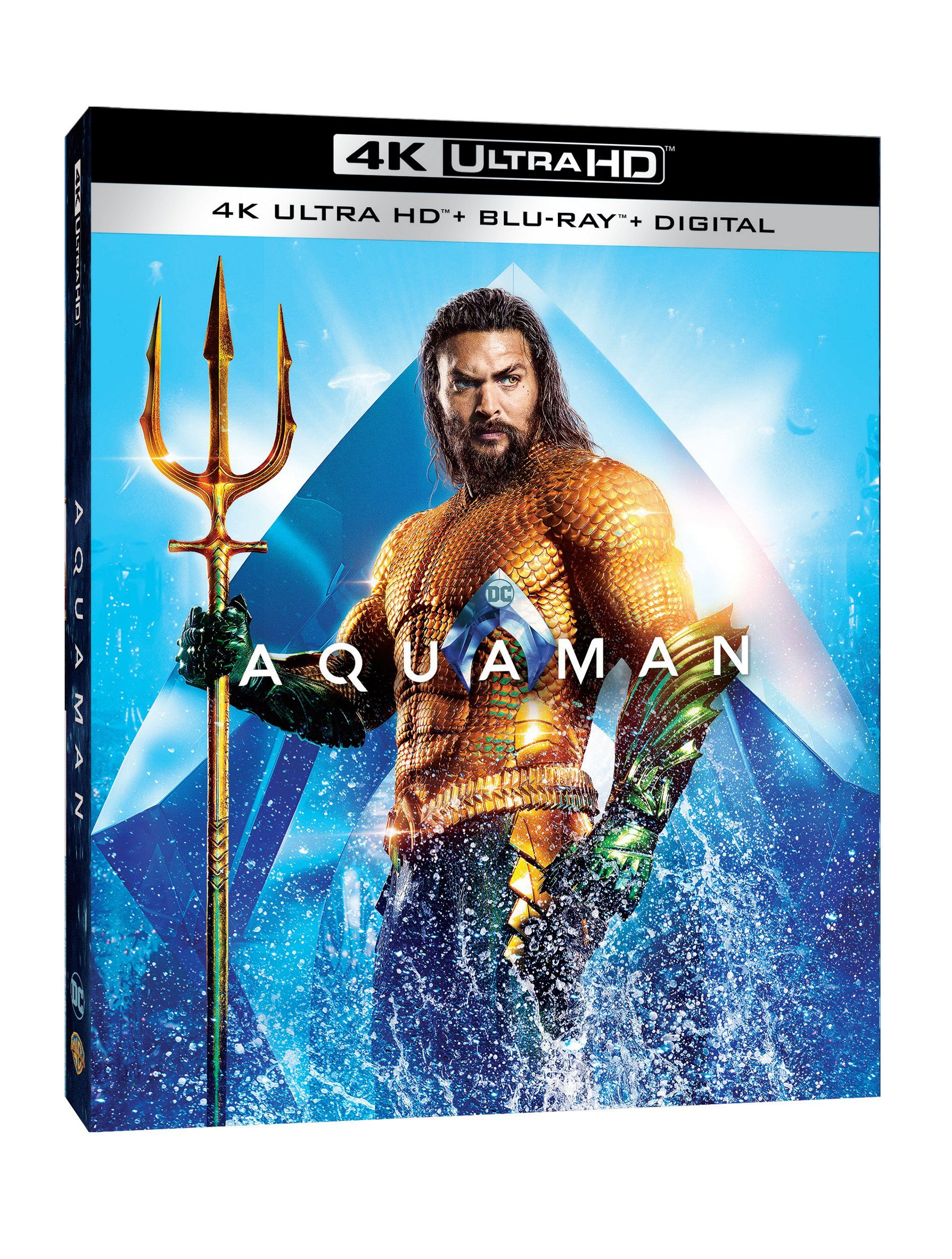 Aquaman 4K Cover