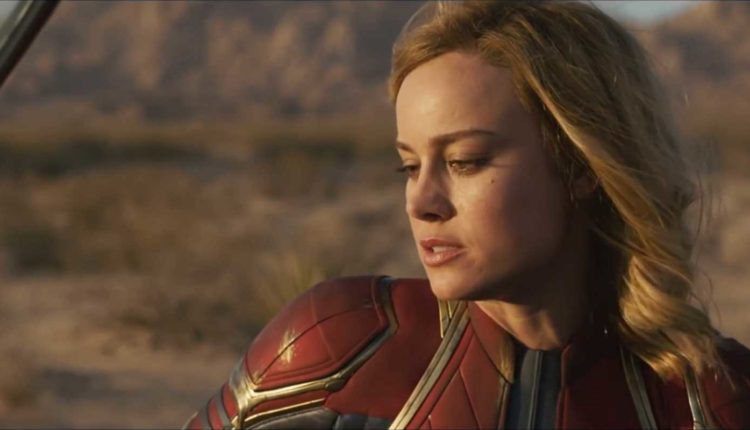 Captain Marvel Punches Spaceship Screams At Skrull In New Tv Spots