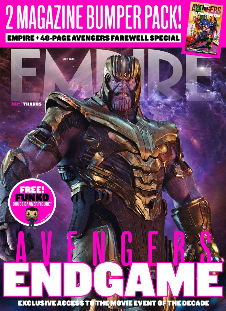 Avengers Endgame Empire Magazine Cover 2 Thanos