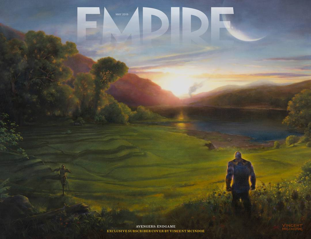 Avengers Endgame Empire Magazine Cover 4 Thanos Sunrise