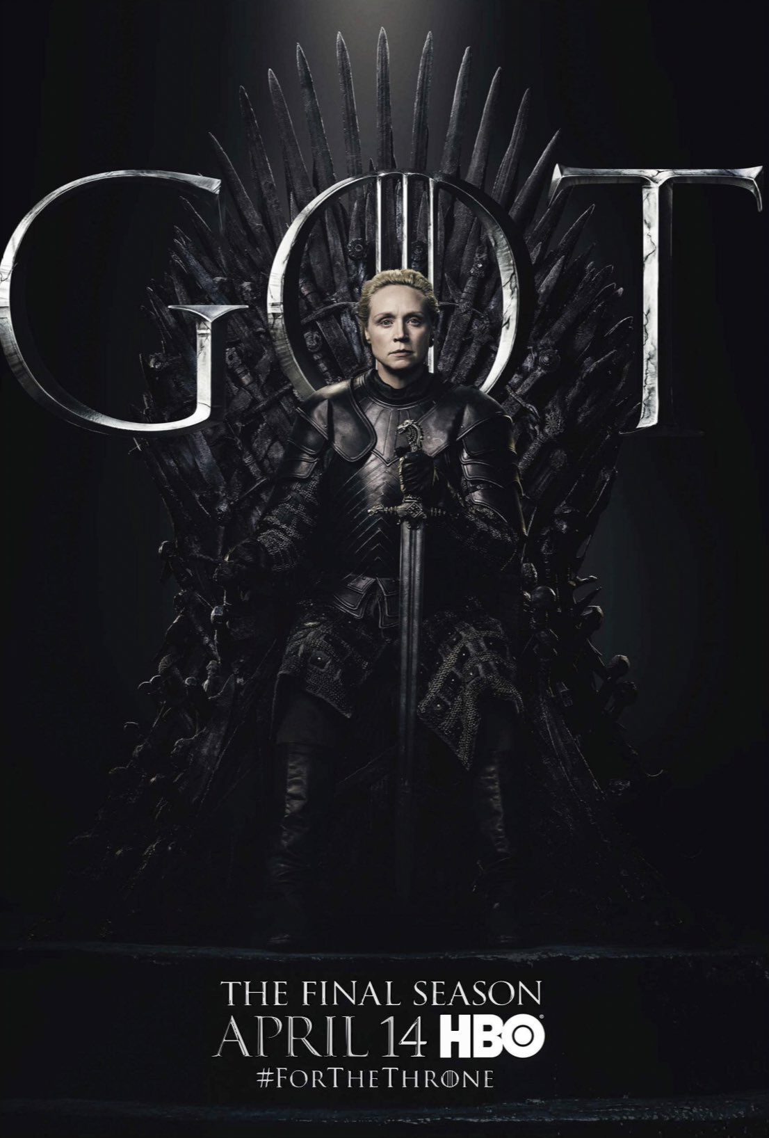 Iron Throne Poster - Brienne of Tarth