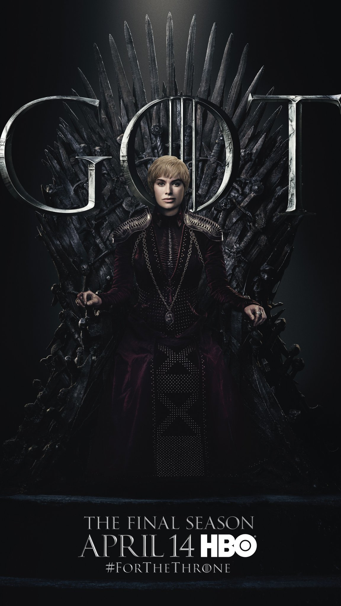 Iron Throne Poster - Cersei Lannister