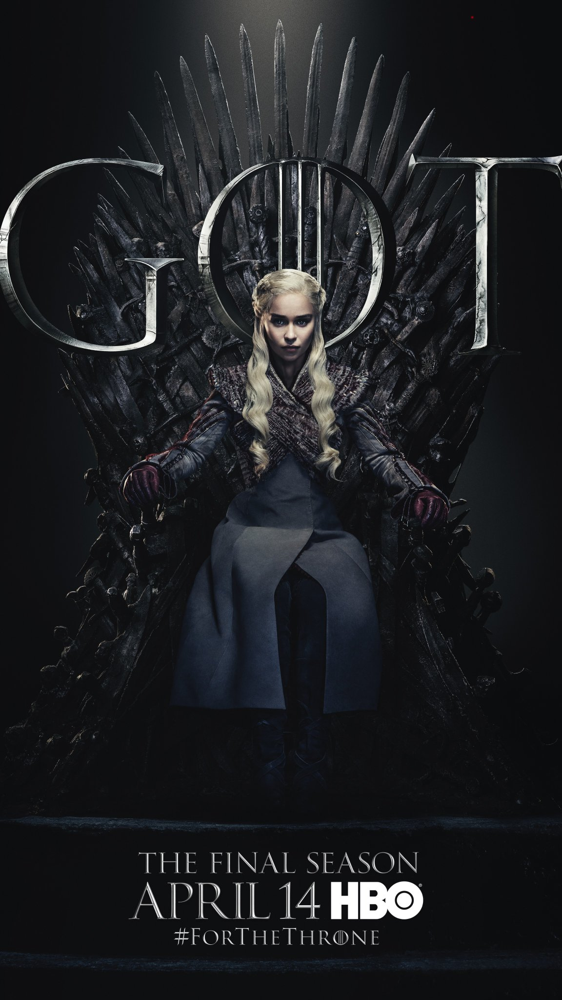 Iron Throne Poster - Daenerys Targaryen