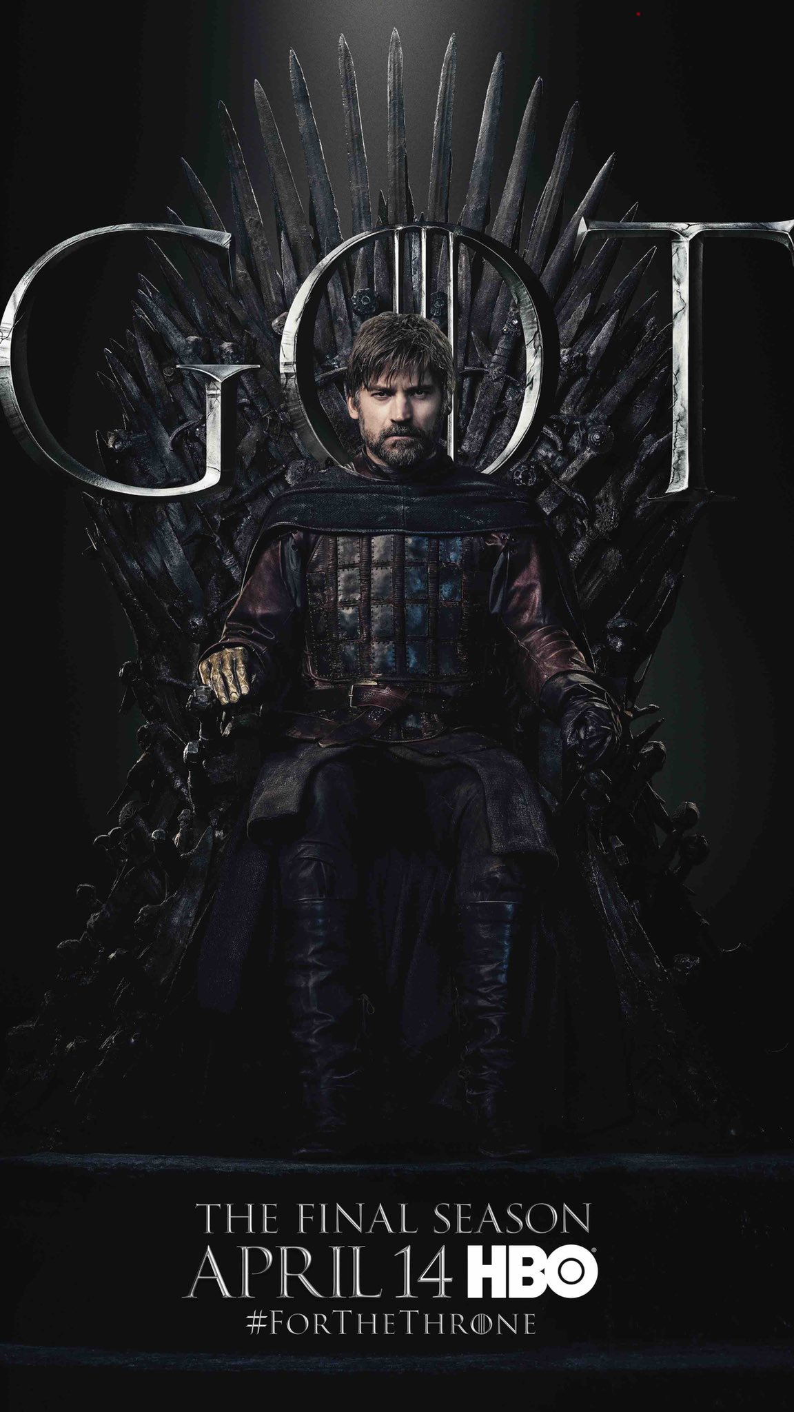 Iron Throne Poster - Jaime Lannister