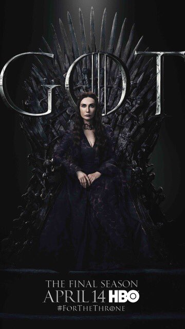 Iron Throne Poster - Melisandre