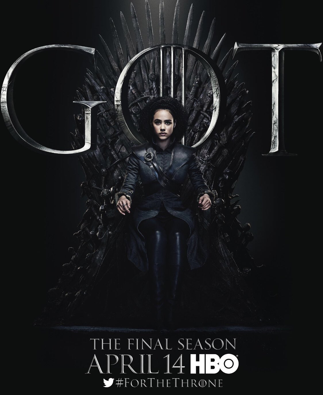 Iron Throne Poster - Missandei
