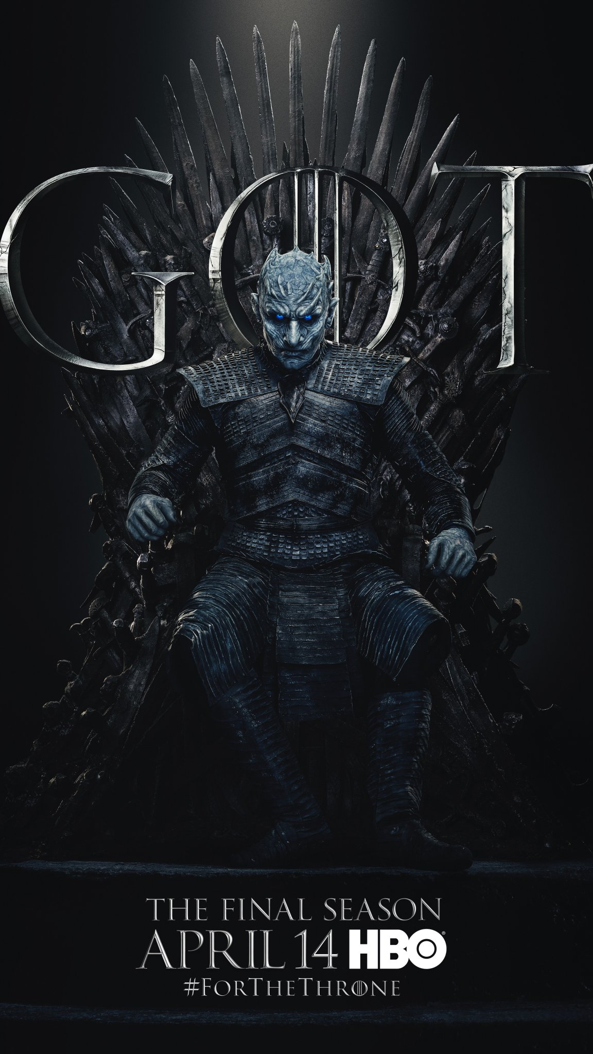 Iron Throne Poster - Night King