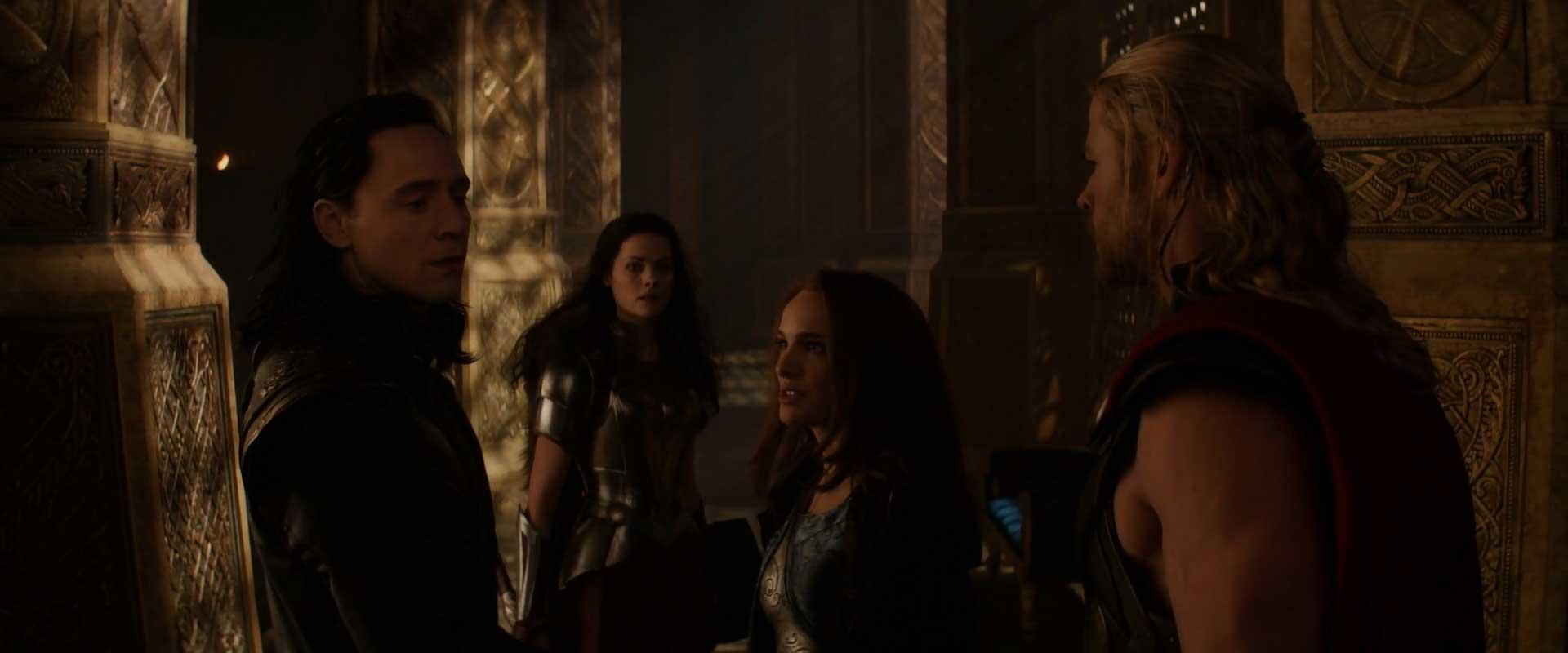 The Road To Avengers Endgame Thor The Dark World - Loki Lady Sif Jane Foster Thor