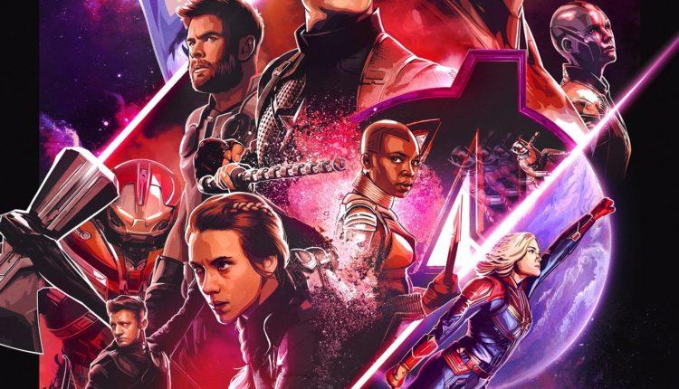 Avengers Endgame Dolby Poster