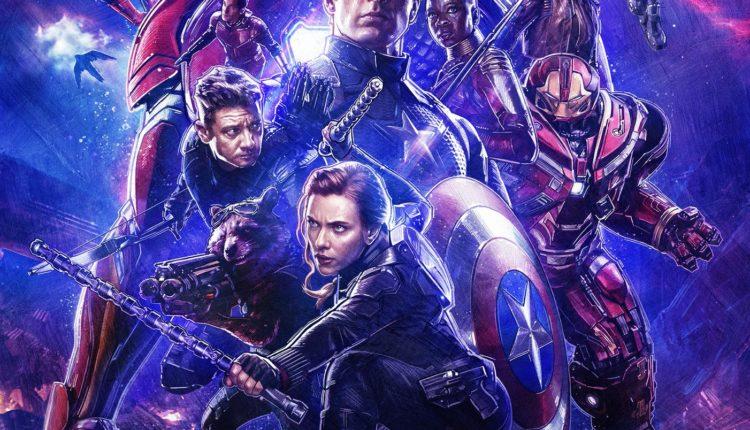 Avengers Endgame RealD 3D Poster