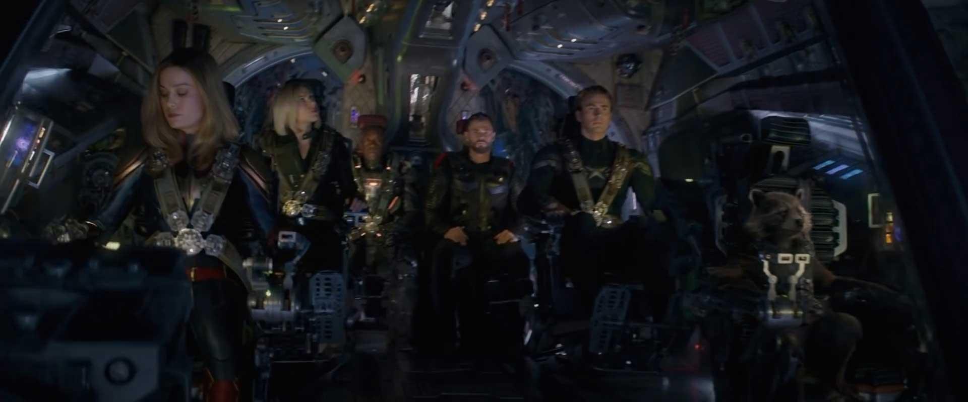 Avengers Endgame Special Look Trailer Breakdown - Captain Marvel Space Travel
