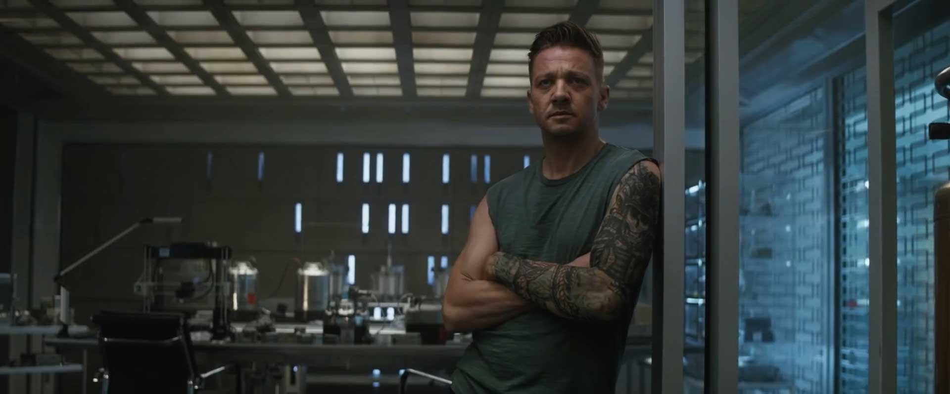 Avengers Endgame Special Look Trailer Breakdown - Hawkeye Tattoo