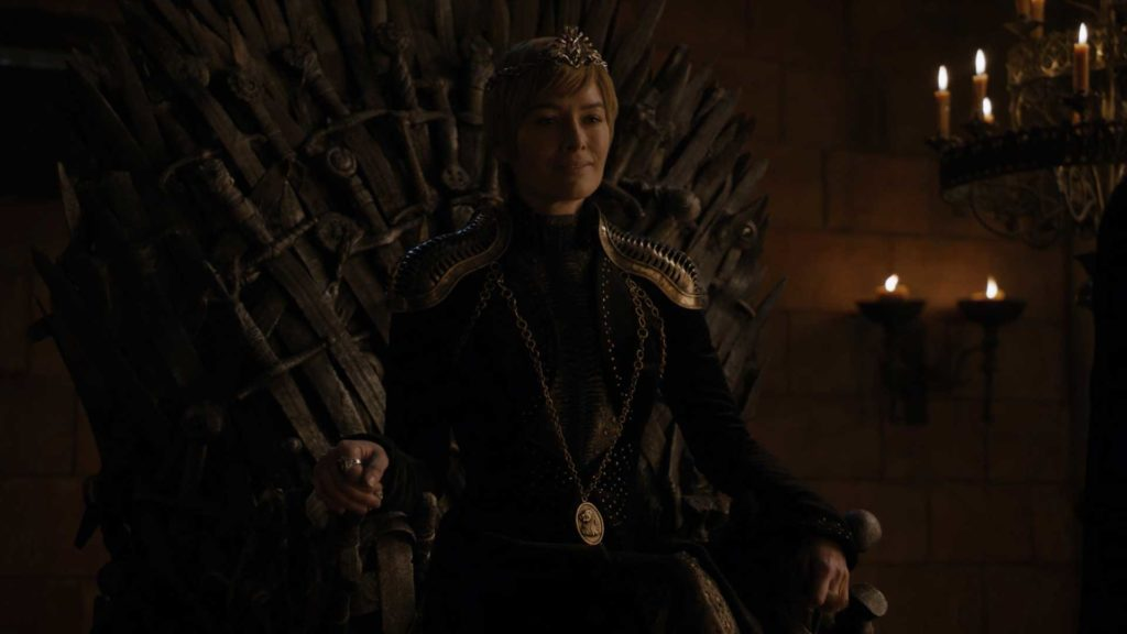 Game of Thrones Season 8 Episode 1 S08E01 Winterfell - Cersei Lannister