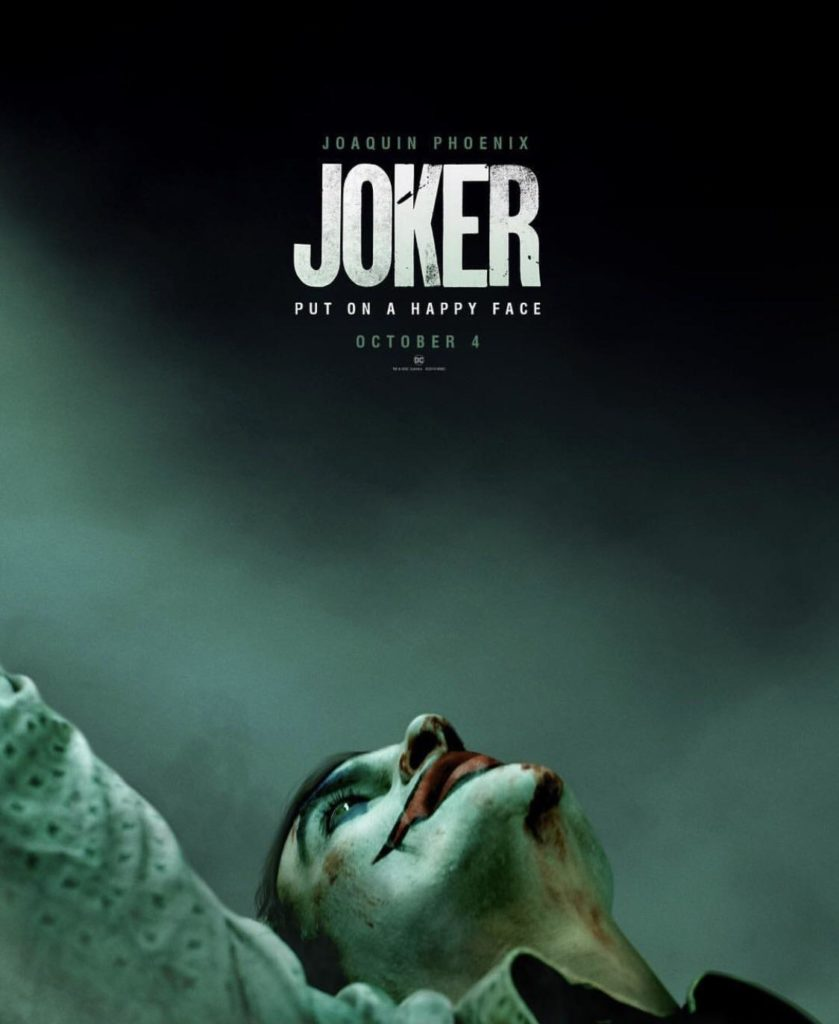 Joker Origin Movie Joaquin Phoenix First Poster